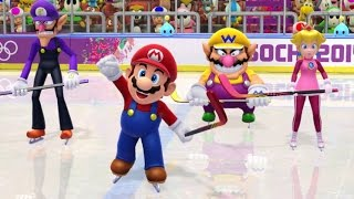 Mario & Sonic at the Sochi 2014 Olympic Winter Games - All Olympic Events