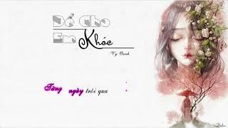 Để cho em khóc Lyrics  OST Vali Tình Yêu  Vy Oanh  YouTube