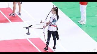 180820 레드벨벳(Red Velvet) 아이린 - 양궁 (2018 아육대)