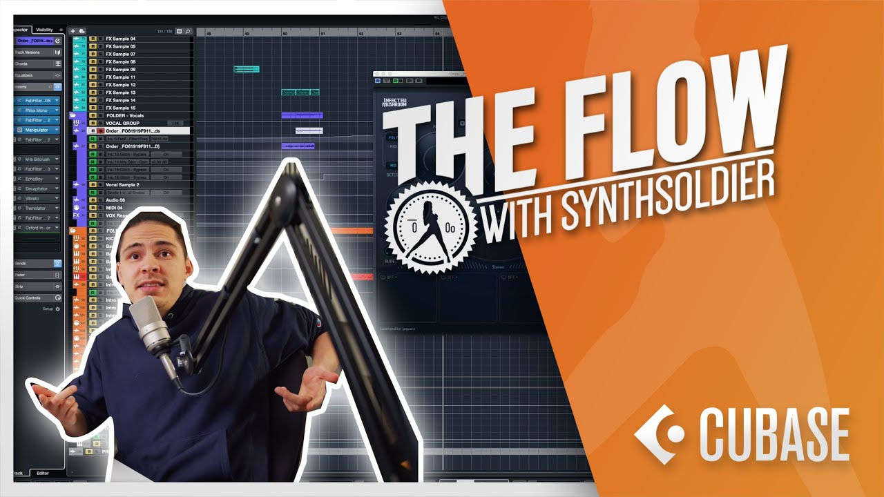 THE FLOW - Hardstyle Music Production with Synthsoldier