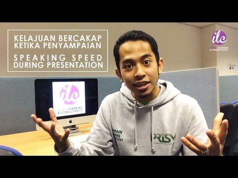 #3 - Laju Mana Anda Bercakap Dalam Pembentangan? (with Eng Sub)