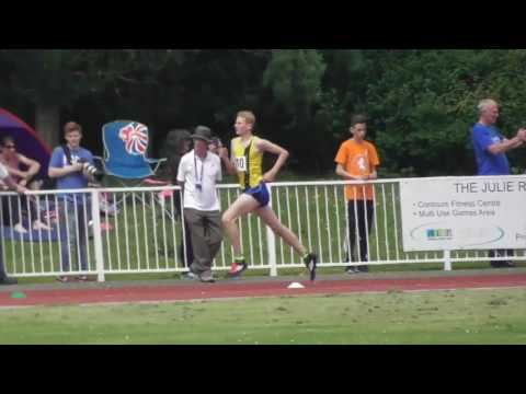 1500m steeplechase Inter Boys Kent Schools Championships 11062016