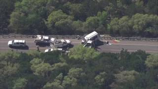 Chopper 5: Aerial video over church bus crash near Garner State Park thumbnail