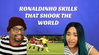 Ronaldinho Skills That Shocked The World| REACTION