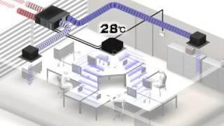 видео Приточно-вытяжная установка с рекуперацией тепла серии ВЕНТС ВУЭ/ ВУТ 100 П мини