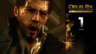Deus Ex Human Revolution Gameplay Walkthrough Directors Cut Part 1 covers Main Mission Sarif Industries Stealth gameplay no commentary Lets Play of all