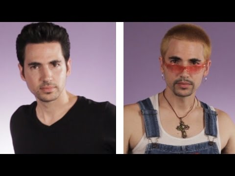 Guys Get '90s Boy Band Makeovers