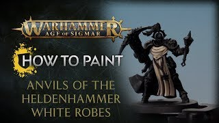 WHTV Tip of the Day - Anvils of the Heldenhammer White Robes.