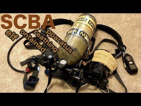 MSA SCBA Operations For Firefighters (Self Contained Breathing Apparatus)