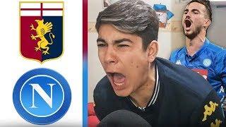 CHE RIMONTA! GENOA NAPOLI 1-2   REACTION TIFOSO NAPOLETANO