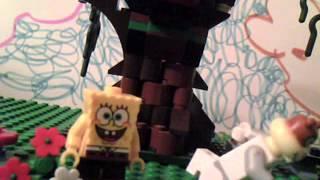Lego Spongebob Tea At The Treedome