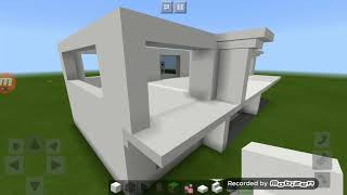 Como fazer casa moderna Minecraft