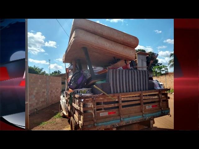 Ação integrada da polícia militar e civil recupera objetos furtados