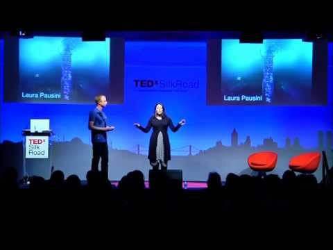 Wearable Tech Fashion Show: Francesca Rosella & Ryan Genz at TEDxSilkRoad