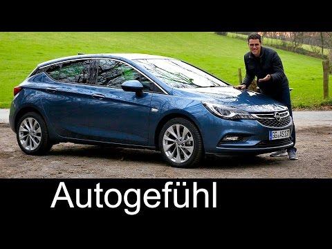 Vauxhall Opel Astra K FULL REVIEW test driven neu neuer all-new gen 2016 - Autogefühl