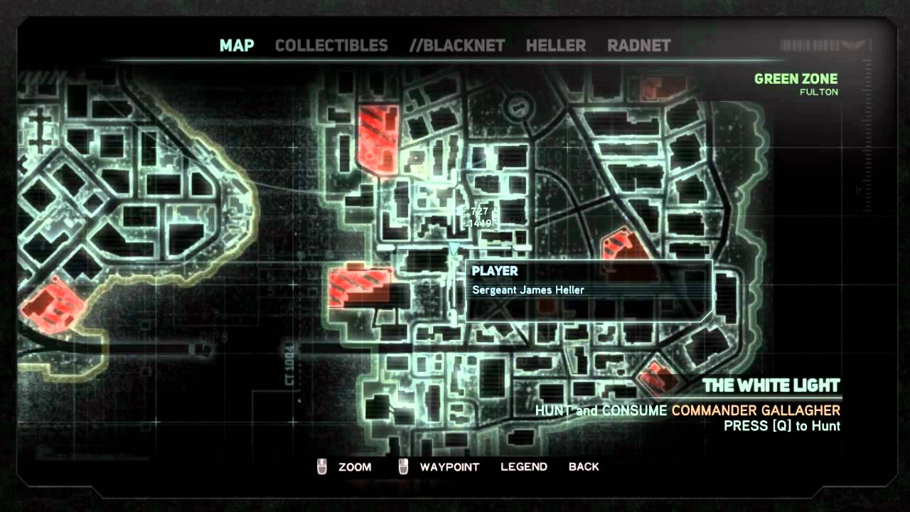 prototype 2 how to hunt commander gallagher