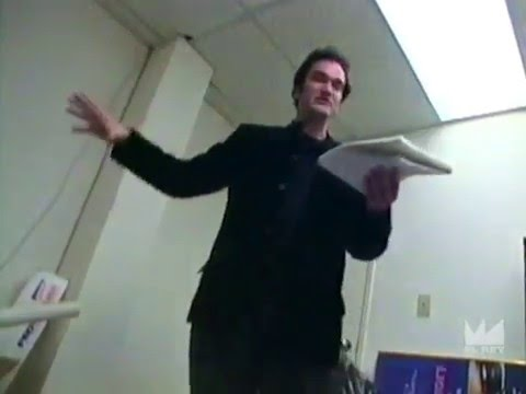"Quentin Tarantino reads early draft of ""Kill Bill"" to Robert Rodriguez (1994)"
