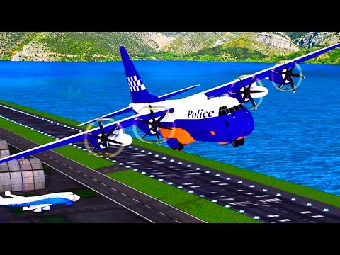 Police Plane Transporter: Moto (by Great Games Studio) Android HD Gameplay Video