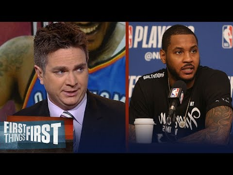 Chris Mannix on what is next in this 'seminal moment' for Carmelo Anthony | NBA | FIRST THINGS FIRST