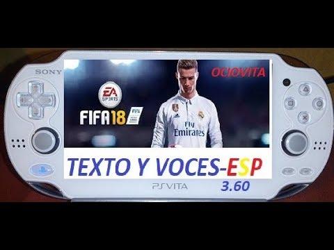 ✔🕹👍🎮FIFA 18 EN ESPAÑOL-PS VITA 3.60.🎮✔🕹👍.