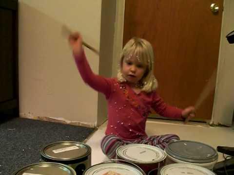 emily drum playing