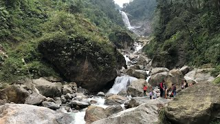 Naga Waterfall In North Sikkim India