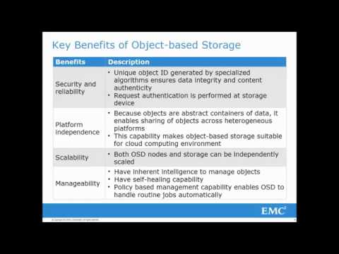 introduction to object based and unified storage youtube