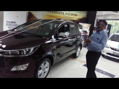 Toyota Innova Crysta Demo (Tamil) - Few Features