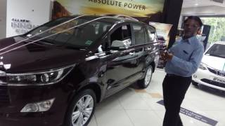 Toyota Innova Crysta Demo (Tamil) - Few Features
