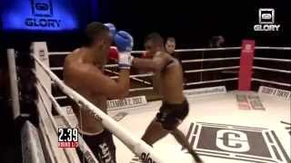 GLORY 2 Brussels - Andy Ristie vs Nordin Ben Moh
