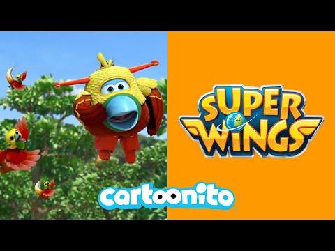 Super Wings | Fly Like a Bird! | Cartoonito