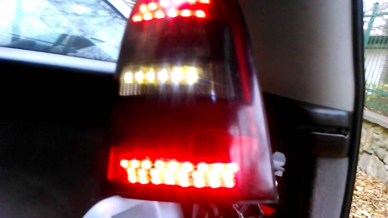 opel vectra b 1997 abblendl. rucklicht