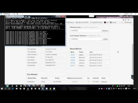 Miner For Gpu How To PPc (peercoin)