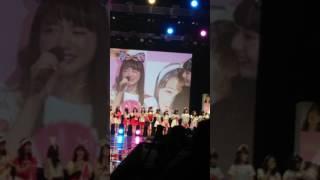 2017年ニコラ開放日清原かやちゃんのお言葉です❗  生かやちゃん本当に可...