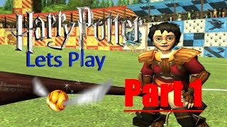 Lets Play Harry Potter Quidditch World Cup Part 1