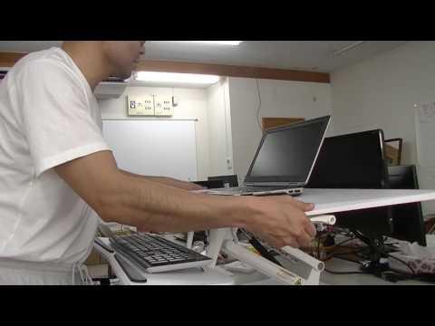 F3MW-locktek 社さんのスタンディングデスクのレビュー