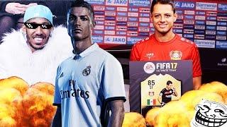 FIFA 17 KARRIEREMODUS BVB #04 AUBAMEYANG ON FIRE! ZU GAST BEI REAL & BAYER! FIFA 17 KARRIEREMODUS