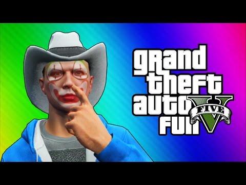 GTA 5 Next Gen Funny Moments - 3D Titans,...