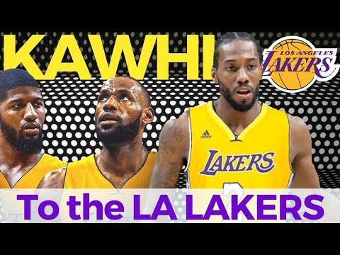 Kawhi Leonard Nagpapa-Trade sa Lakers   Posibleng makakampi ni Lebron