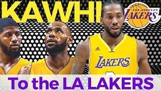 Kawhi Leonard Nagpapa-Trade sa Lakers | Posibleng makakampi ni Lebron
