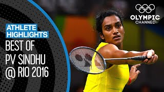 PV Sindhu 🇮🇳  - The First Indian Woman to win an Olympic Silver Medal! | Athlete Highlights