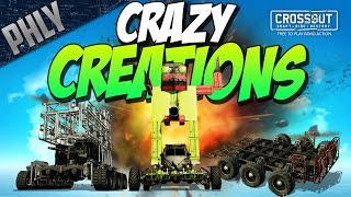 Crossout - MEGA SHOPPING CART - ROCKET PENIS & MORE (Crossout Crazy Creations #2)