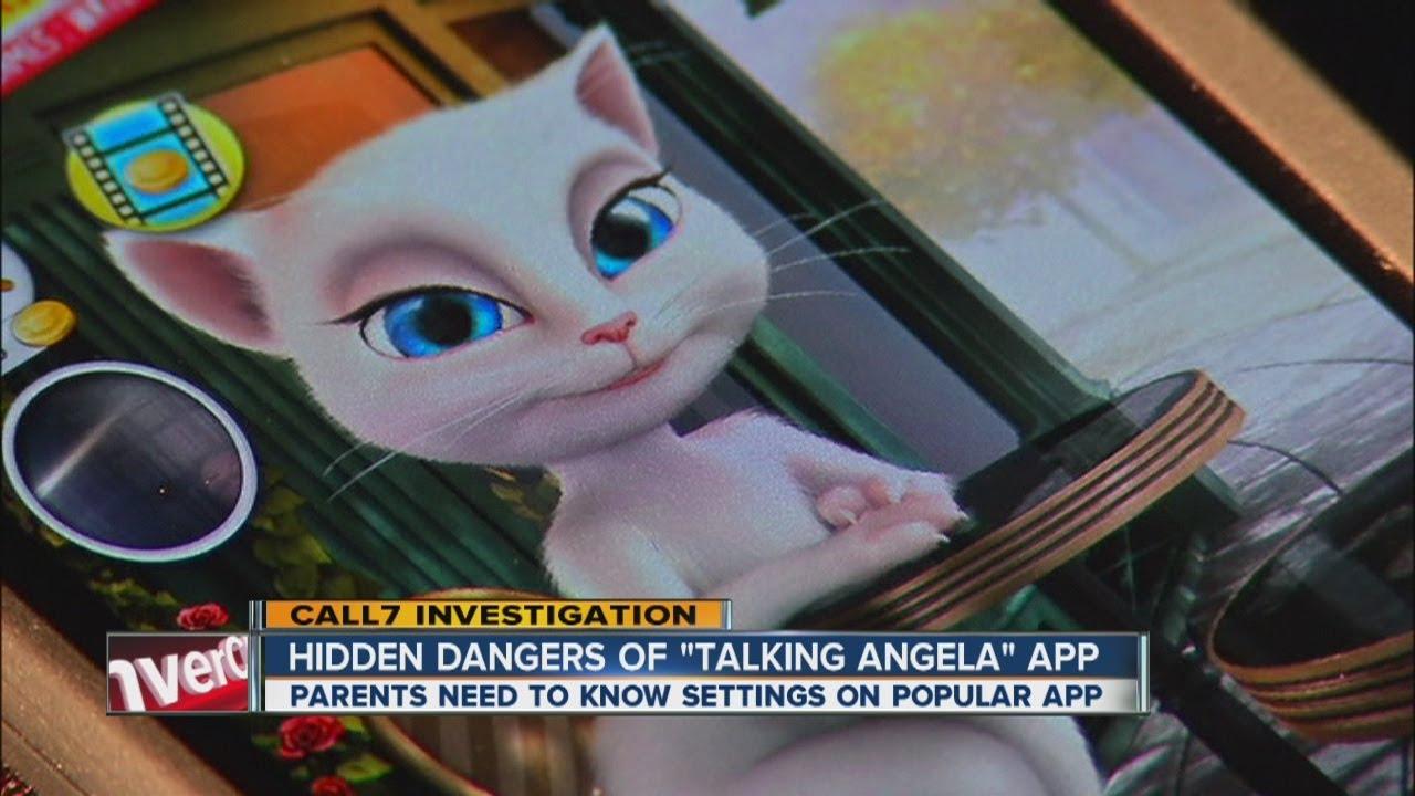 Hidden dangers of 'Talking Angela' app
