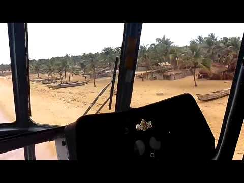 Flyby over Togo beach Unafraid MIX ( Low Level Flight ) / Ми-8 Того ПМВ
