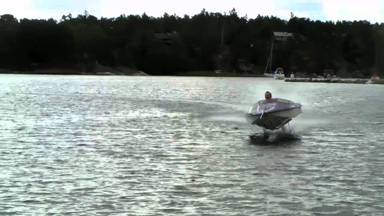 HYDROFOIL -- THRILLING SWEDISH INVENTION - YouTube