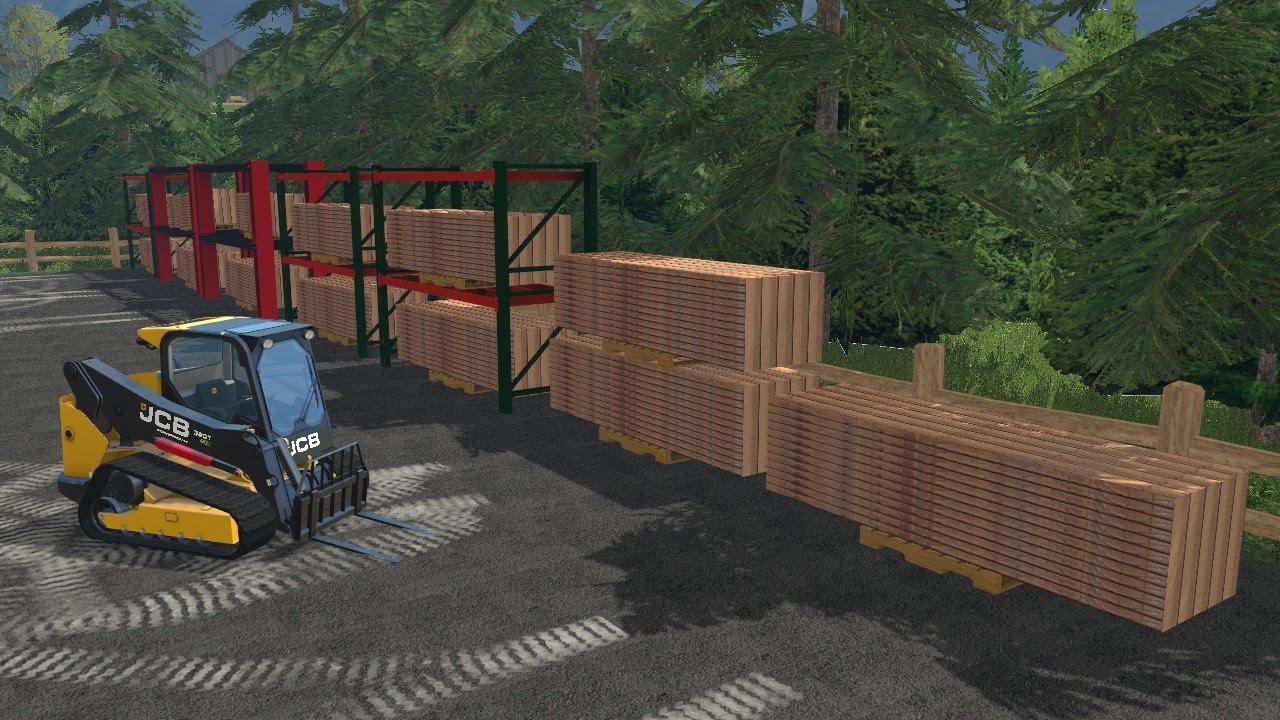 Farming Simulator 15 Lawn Care Logging Ep 7 Running The