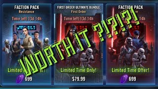 Video Worth IT:  New Faction Packs / FO bundle star wars galaxy of heroes swgoh download MP3, 3GP, MP4, WEBM, AVI, FLV September 2017
