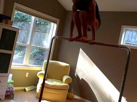 Gymnastics Bar Skills