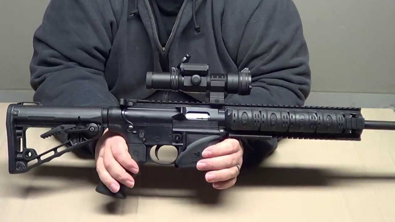 Smith & Wesson M&P 15-22 Review - YouTube