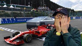 Tesla Cybertruck vs Formula One Car: Who will win?   OBros